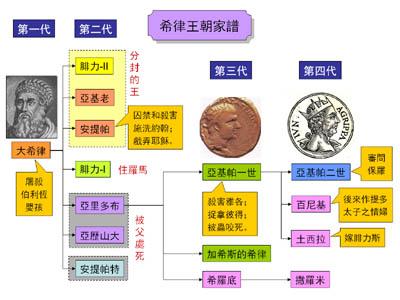 家谱组织结构图