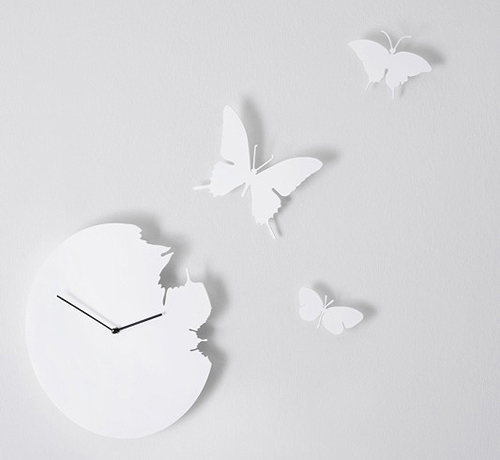 BUTTERFLY CLOCK by Susanne Philippson